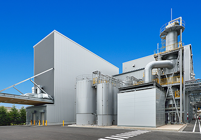 "Extension of ""Okayama Functional Saccharide Plant, T Building"" Completed"